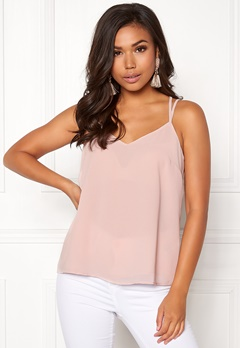 New Look Char Lace Cami Singlet Shell Pink Bubbleroom.fi
