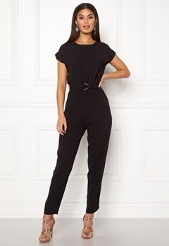 New Look D-Ring Tee Jumpsuit Black Bubbleroom.fi