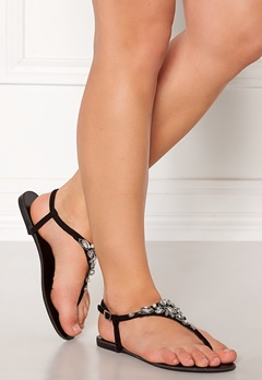 New Look Embellished Toe Sandal Black Bubbleroom.fi