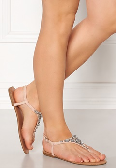New Look Embellished Toe Sandal Pink Bubbleroom.fi