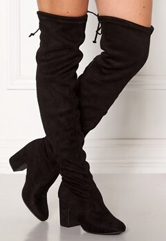 New Look Erica High Leg Boots Black Bubbleroom.fi