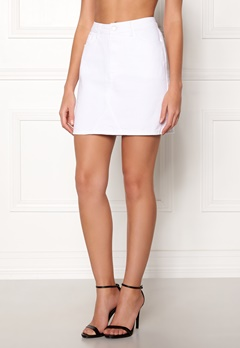 New Look Eva Skirt White Bubbleroom.fi