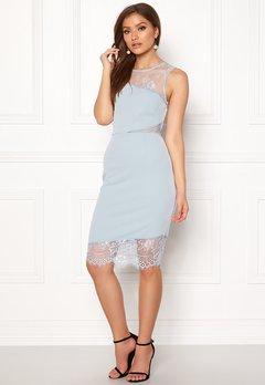New Look Go Jen Lace Bodycon Dress Pale Blue Bubbleroom.fi