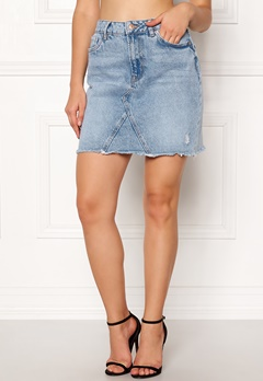 New Look Harvey Cut Off Skirt Wedgewood Bubbleroom.fi