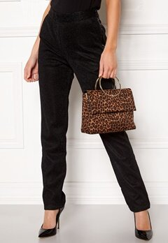 New Look Leopard Matilda Metal Bag Brown Pattern Bubbleroom.fi