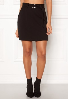 New Look Scuba Crepe Skirt Black Bubbleroom.fi