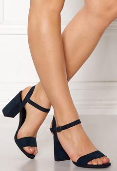 New Look Sims Block Heel Sandal Grey Bubbleroom.fi