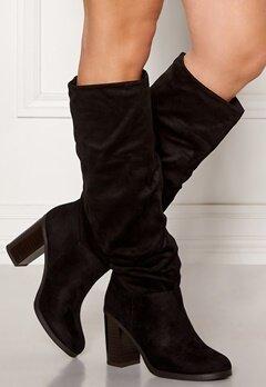 New Look Slouch High Leg Boots Black Bubbleroom.fi