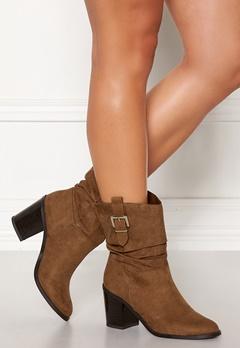 New Look Western Mid Calf Boots Tan Bubbleroom.fi