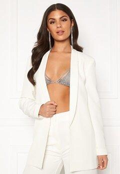 Nicole Falciani X Bubbleroom Nicole Falciani Suit Jacket White Bubbleroom.fi
