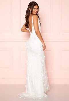 Nicole Falciani X Bubbleroom Nicole Falciani Wedding Gown White Bubbleroom.fi