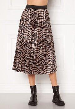 VILA Nitban Print Skirt Nomad Zebra Bubbleroom.fi