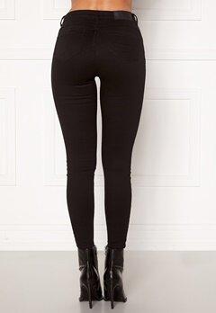 Noisy May Jen NW S.S Shaper Jeans Black Bubbleroom.fi