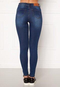 Noisy May Jen NW S.S Shaper Jeans Medium Blue Denim Bubbleroom.fi