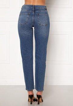 Noisy May Jenna NW Straight Jeans Medium Blue Denim Bubbleroom.fi