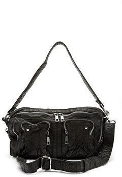 Nunoo Alimakka Washed Bag Black Bubbleroom.fi