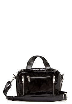 Nunoo Donna Gloss  Bag Black Bubbleroom.fi