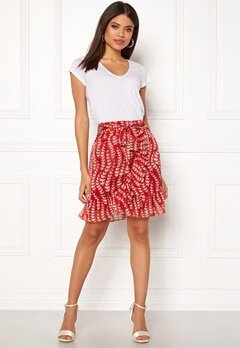 co'couture Oat Skirt Rio Red Bubbleroom.fi