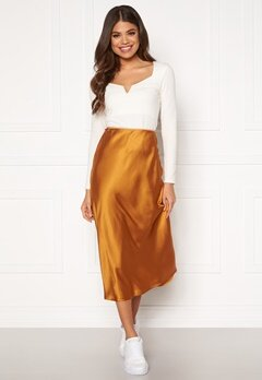OBJECT Alina MW Skirt Sugar Almond Bubbleroom.fi