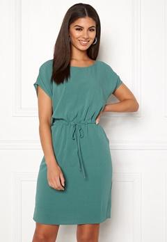 OBJECT Bay Dallas S/S Dress Blue Spruce Bubbleroom.fi