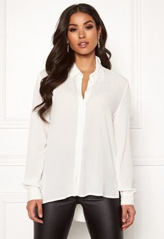 OBJECT Bay L/S Shirt White Bubbleroom.fi