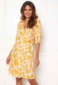 OBJECT Bea 2/4 Dress Elfin Yellow Bubbleroom.fi