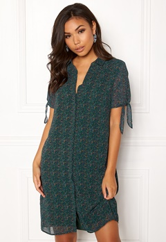 OBJECT Casey S/S Shirt Dress Pine Grove Bubbleroom.fi