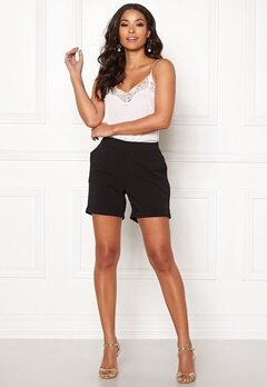 OBJECT Cecilie Shorts Black Bubbleroom.fi