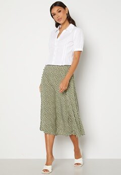 OBJECT Celeste Skirt Deep Lichen Green AO Bubbleroom.fi