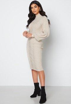 Object Collectors Item Makenzy Knit Dress Silver Gray bubbleroom.fi