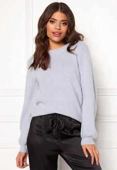 OBJECT Eve Nonsia Knit Pullover Heather/Melange Bubbleroom.fi