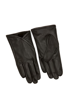 OBJECT Hannah L Gloves Black Bubbleroom.fi