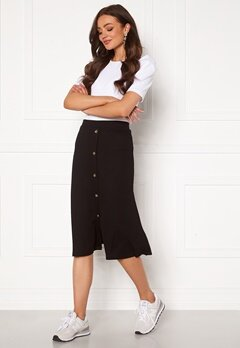 OBJECT Kay Maxi Skirt Black Bubbleroom.fi