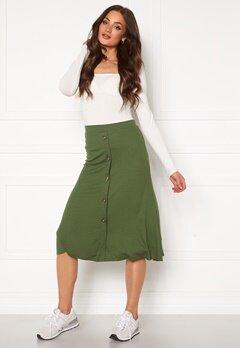 OBJECT Kay Maxi Skirt Burnt Olive Bubbleroom.fi