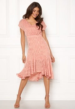 OBJECT Kelsey S/S Dress Misty Rose Bubbleroom.fi