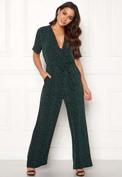 OBJECT Lada S/S Jumpsuit Black Bubbleroom.fi