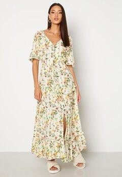 OBJECT Lorena S/S Long Dress Sandshell Bubbleroom.fi