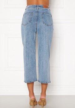 OBJECT Marina MW New Denim Jeans Light Blue Denim Bubbleroom.fi