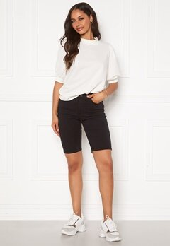 OBJECT Marina MW Twill Shorts Black Bubbleroom.fi