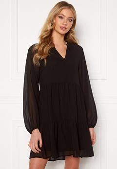 OBJECT Mila Gia L/S Dress Black Bubbleroom.fi