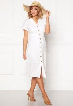 OBJECT Nana S/S Long Dress Gardenia Bubbleroom.fi