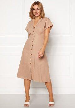 OBJECT Nana S/S Long Dress Humus Bubbleroom.fi
