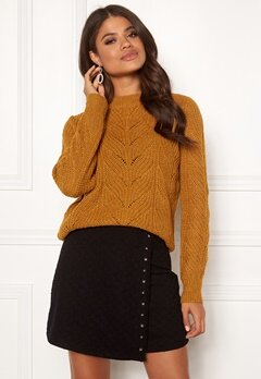 OBJECT Nova Stella Knit Buckhorn Brown Bubbleroom.fi