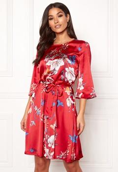 OBJECT Pammy 3/4 Pam Dress Fiery Red Bubbleroom.fi