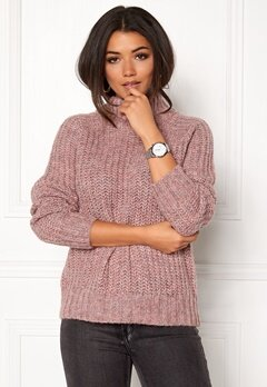 OBJECT Patricia Knit Pullover Withered Rose Bubbleroom.fi