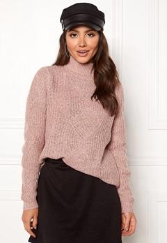 OBJECT Shiloh L/S Knit Pullover Violet Ice Bubbleroom.fi