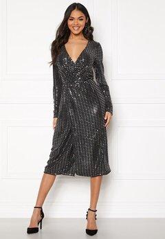 OBJECT Sola L/S Dress Black Bubbleroom.fi
