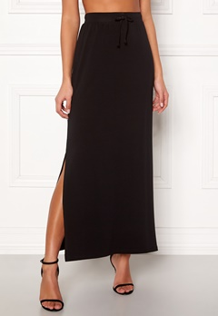 OBJECT Stephanie Maxi Skirt Black Bubbleroom.fi