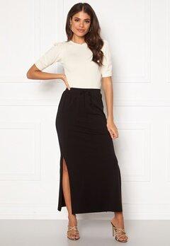 OBJECT Stephanie Maxi Skirt Black Bubbleroom.fi