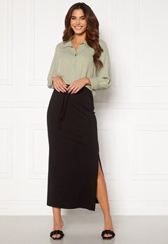 OBJECT Stephanie Maxi Skirt Black<br>  Bubbleroom.fi